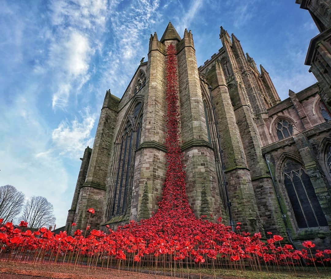 Weeping Window at Hereford Cathedral